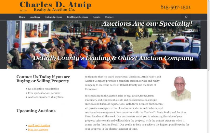 Charles Atnip Realty & Auction