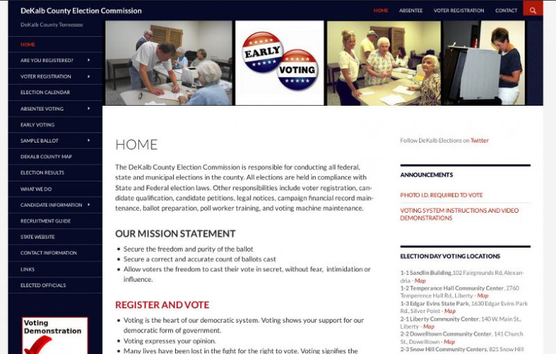 DeKalb Election Commission