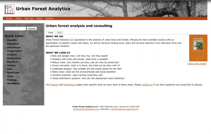 Urban Forest Analytics