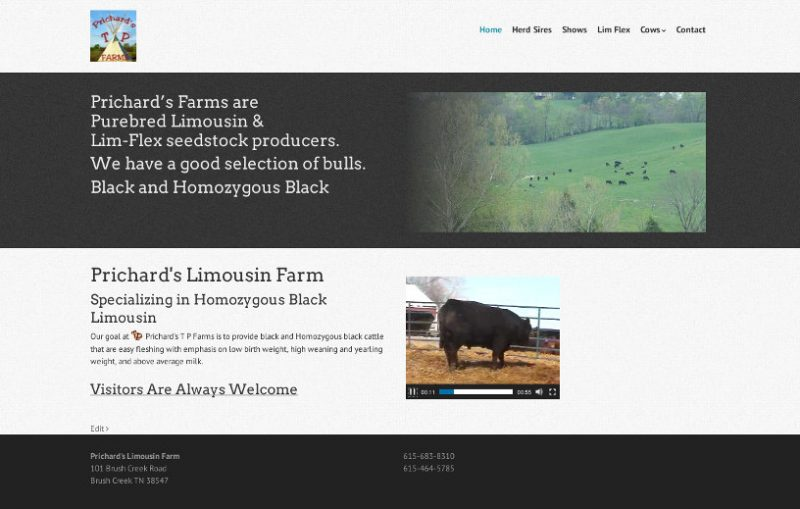 Prichards Limousin Farm