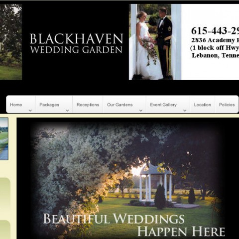Blackhaven Wedding Garden